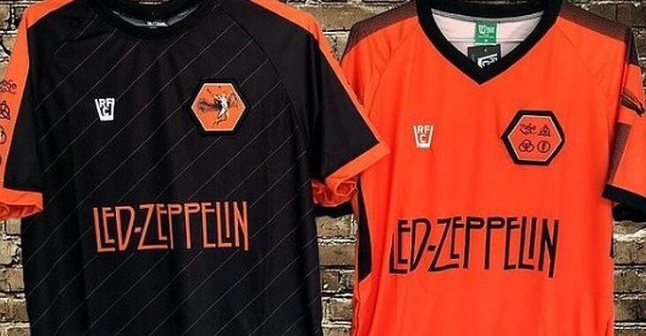 Loja de Fortaleza produz camisas de futebol de bandas de rock