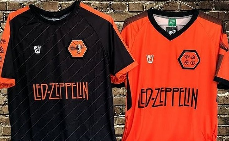 A loja Rock, Futebol e Cerveja já lançou camisas de 38 bandas (Foto: Divulgação)