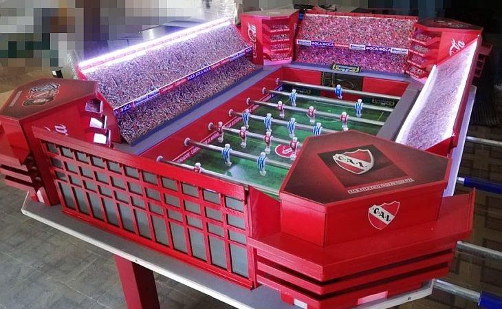 O estádio do Independiente, da Argentina, foi um dos reproduzidos (Foto: Divulgação)