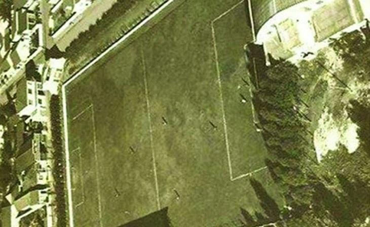 Foto antiga do estádio Assad Abdala, em Niterói (Foto: Fundação de Artes de Niterói)