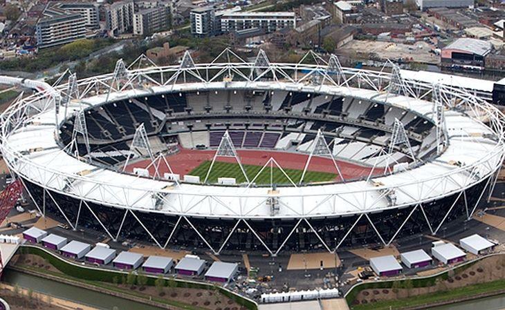 O estádio Olímpico de Londres possui 80 mil lugares (Foto: Agência Brasil)