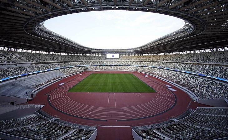 O Estádio Olímpico de Tóquio sediará um único jogo: a final do feminino (Foto: Divulgação)
