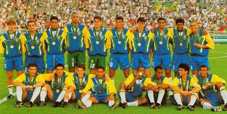 Brasil conquistou o bronze em 1996, batendo na trave pela 3ª vez (Foto: CBF)
