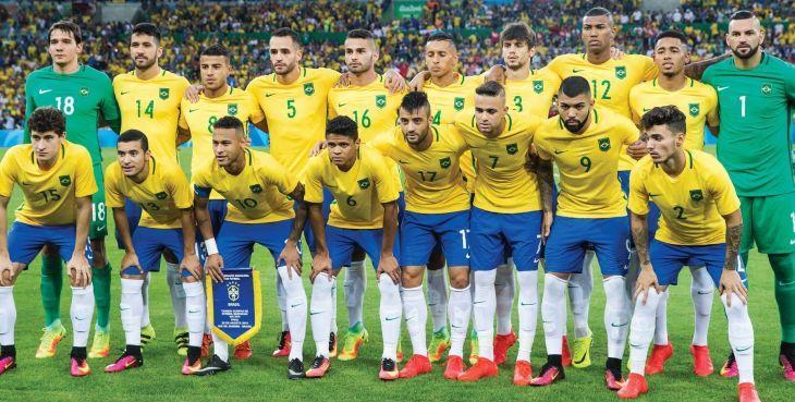 Brasil conquistou o ouro pela 1ª vez no futebol em 2016 (Foto: CBF)