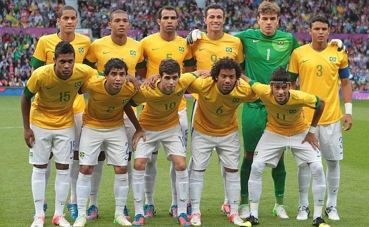 Brasil conquistou a prata pela 3ª vez no futebol masculino (Foto: CBF)