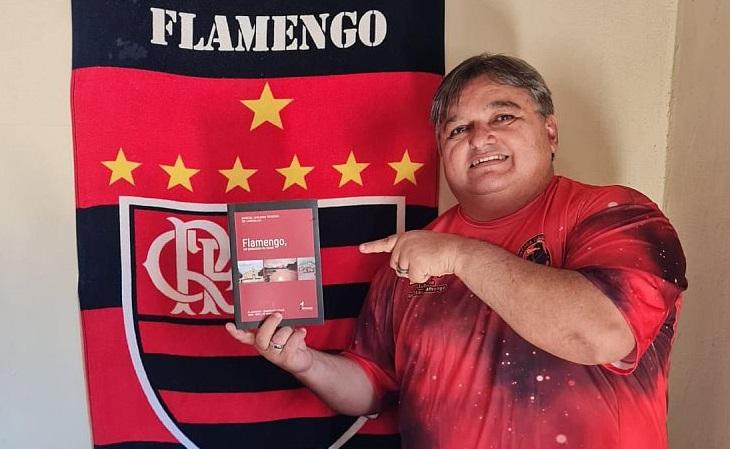 Nailson Carvalho é flamenguense e flamenguista de coração (Foto: Divulgação)