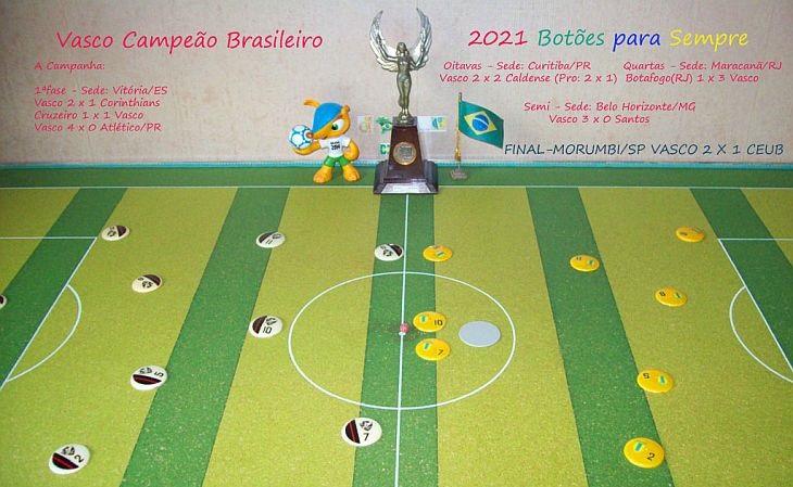 Final da Série A de 2021 contou com Vasco e Ceub-DF, da Brianezi (Foto: Acervo pessoal)